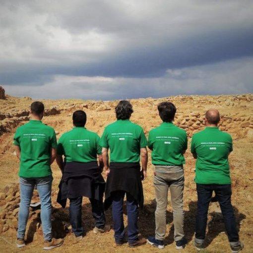 Guías de turismo del yacimiento arqueológico de Tejada La Vieja