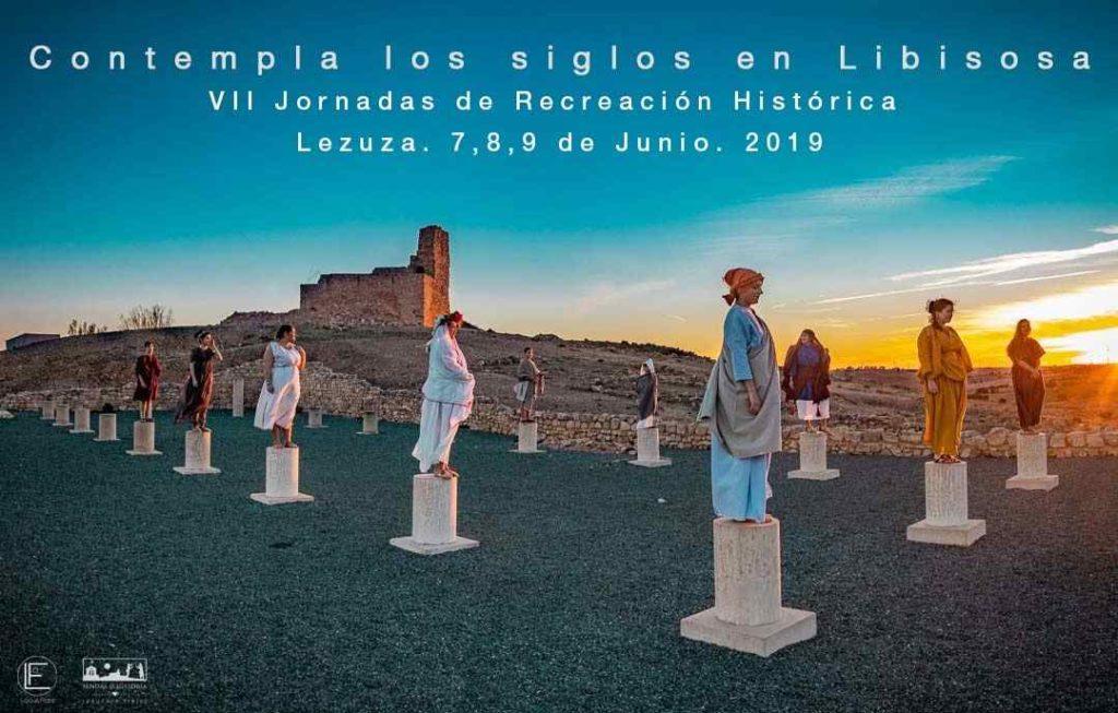Foro romano de Libissosa, recreación histórica