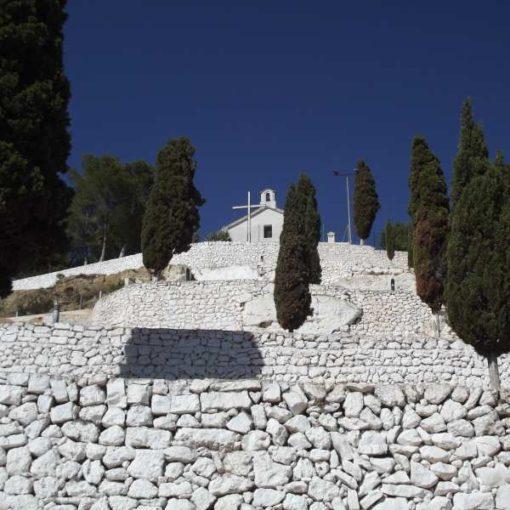 Escaleras de acceso a la Ermita de Navarrés