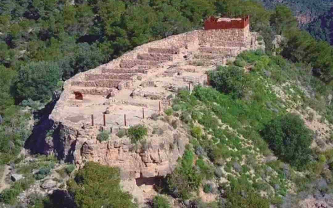 Poblado íbero de El Puntal dels Llops en Olocau
