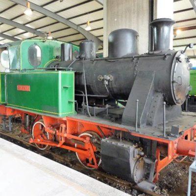 Tren antiguo de Gijón