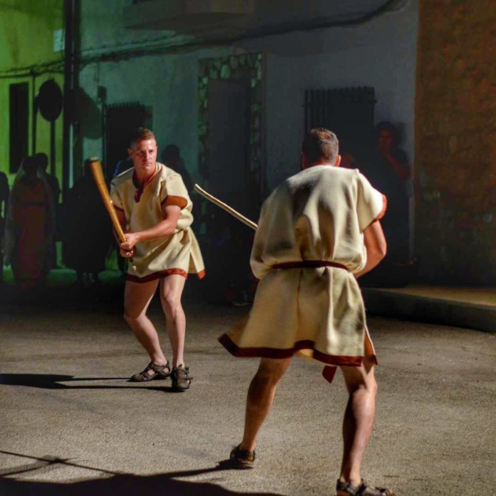 Recreación histórica de cultura íbera