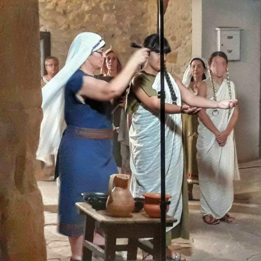 Recreación de cultura íbera