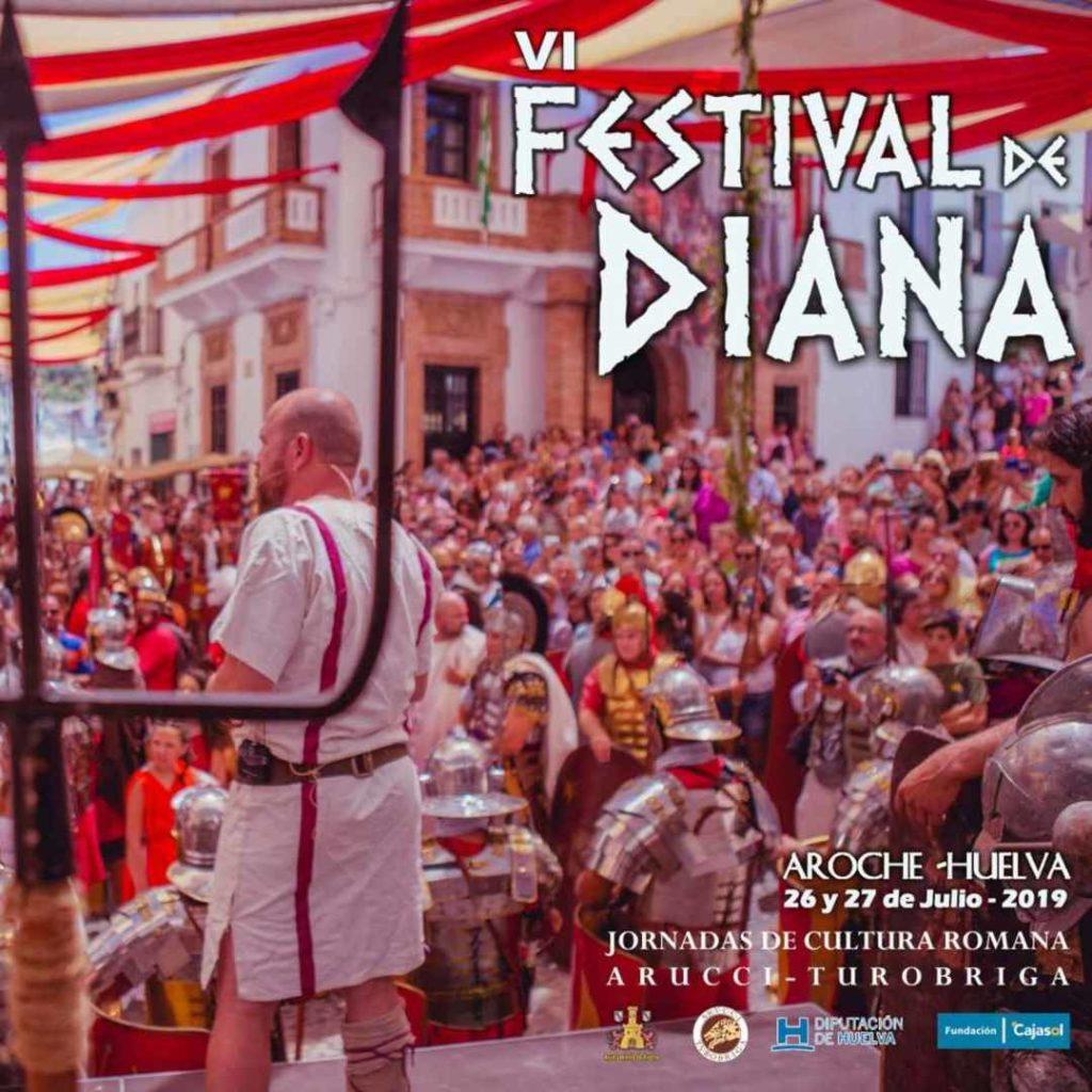 Cartel del VI Festival de Diana en Aroche