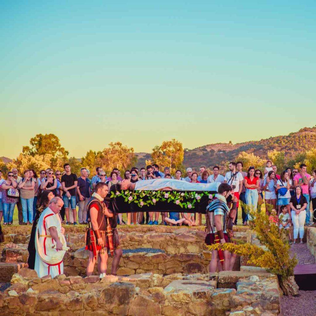 Funeral romano en Turobriga