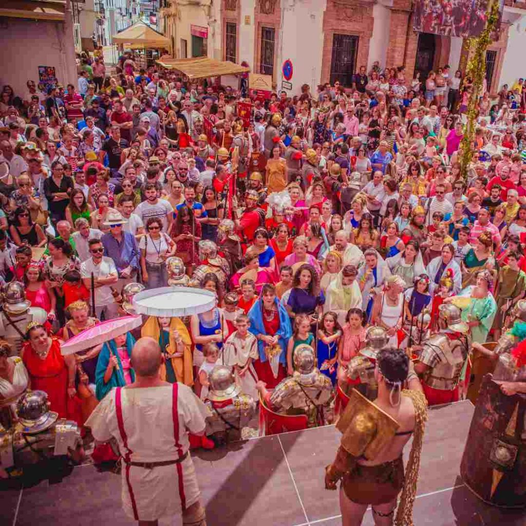 Festival de Diana en la plaza de Aroche
