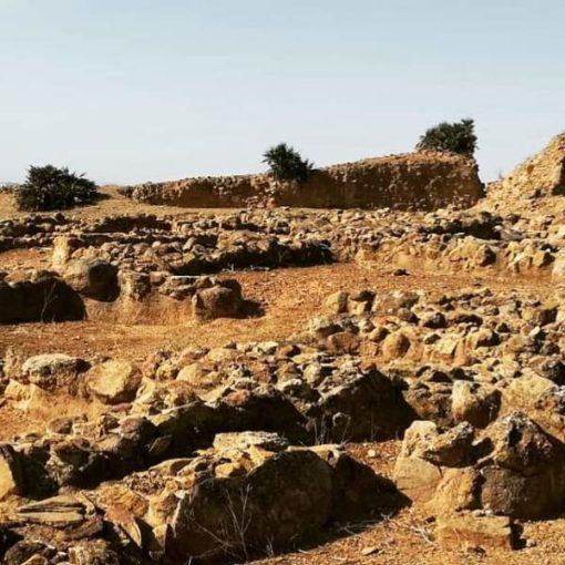 Restos arqueológicos de Tejada la Vieja