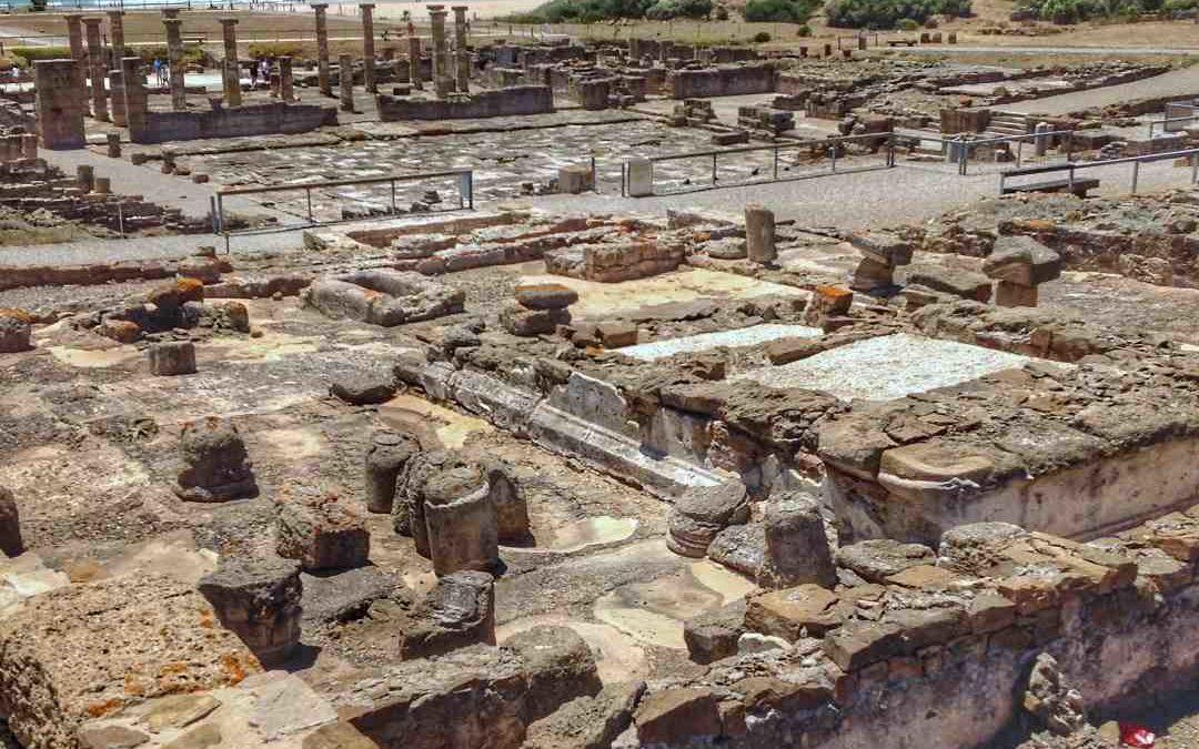 Ruinas de a ciudad romana de Baelo Claudia