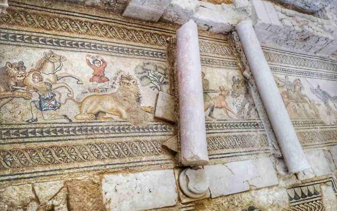 Mosaicos de la villa romana de Salar