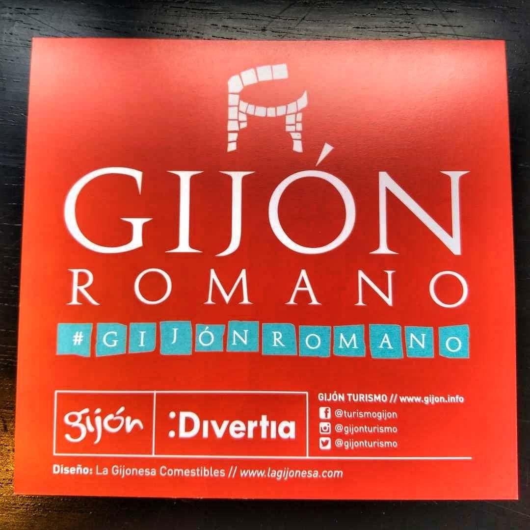 Cartel de Gijón Romano