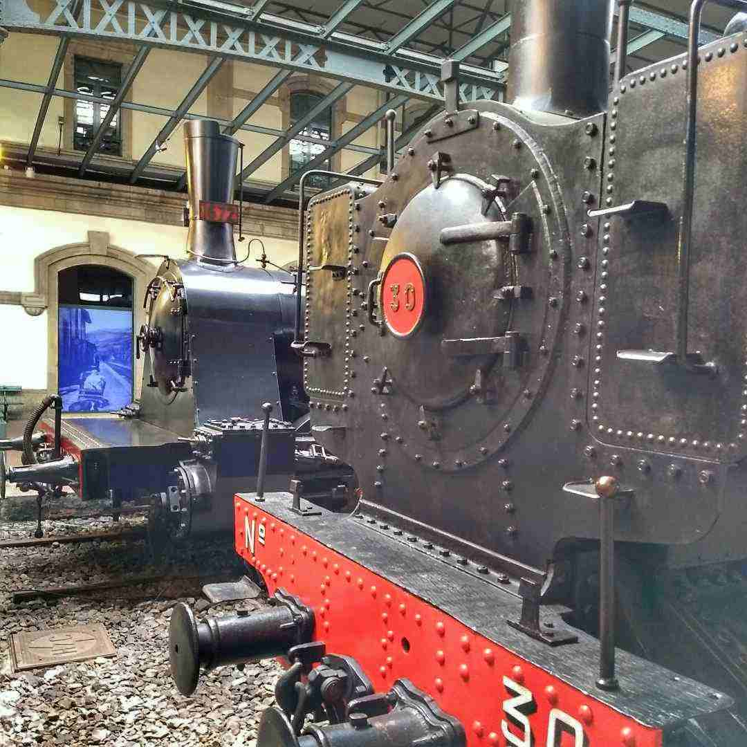 Museo Ferroviario de Asturias