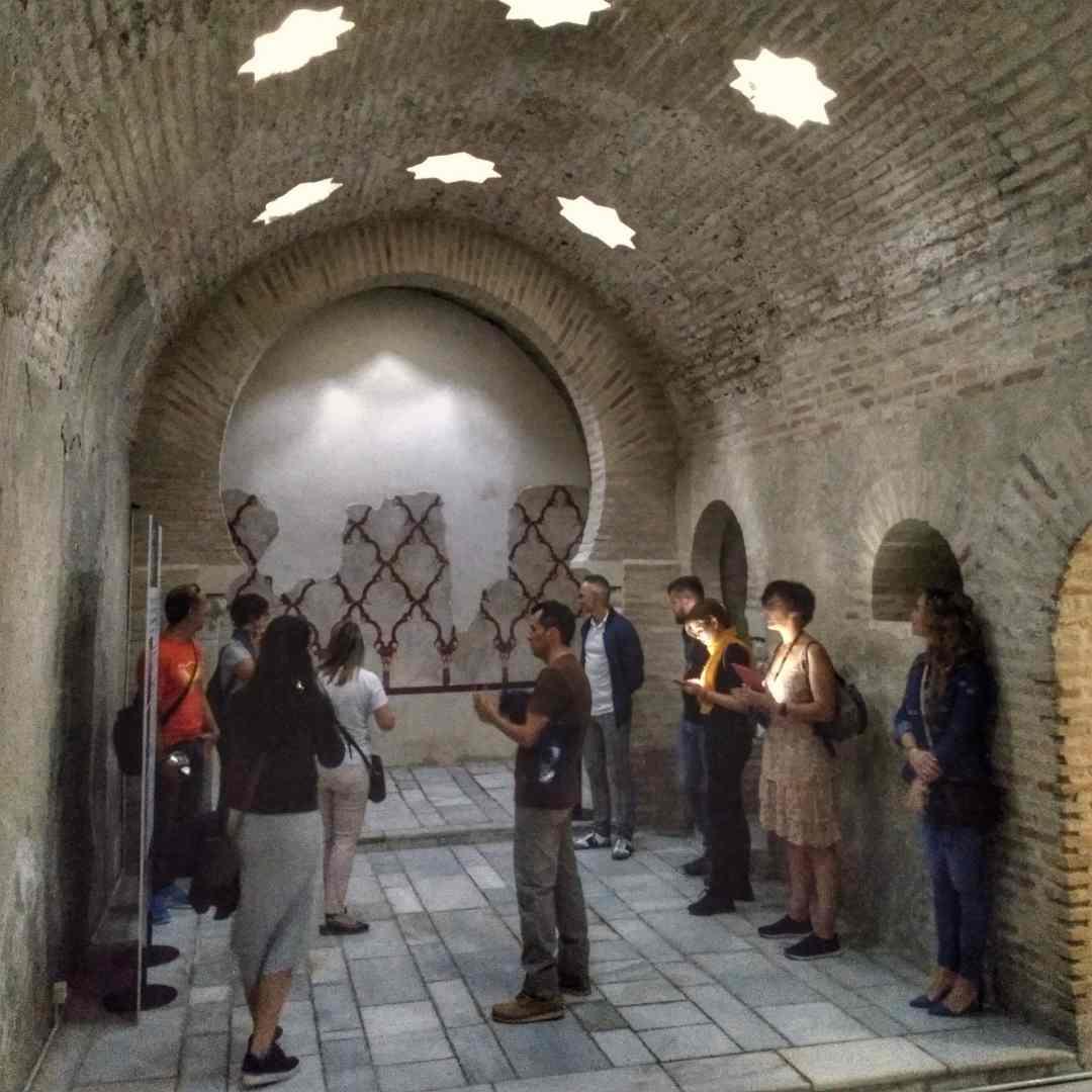 Baños árabes de Jaén en el Palacio de Villardompardo