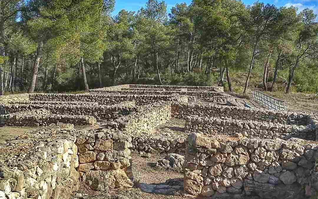 Yacimiento arqueológico de la Bastida de les Alcusses en Moixent