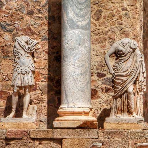 Esculturas romanas de Mérida
