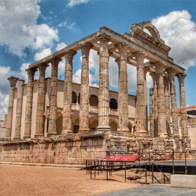 Templo romano de Mérida
