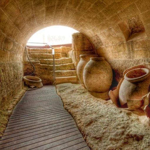 Bodega antigua en Fortaleza de la Mota