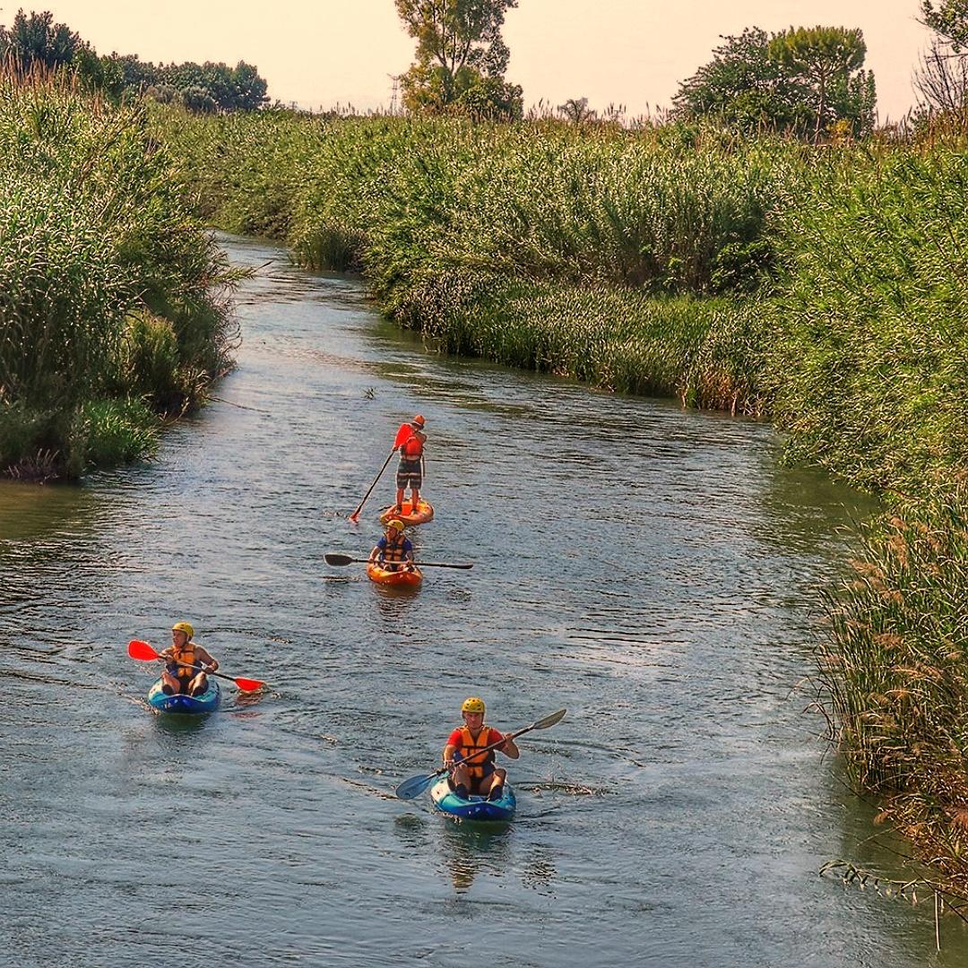 Kayak río Túria