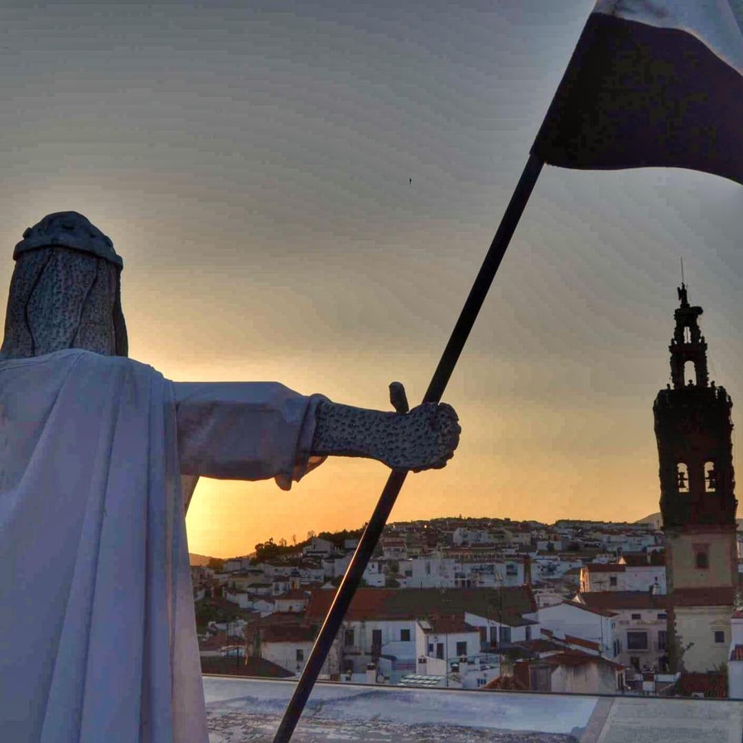 Caballero Templario en Jerez de los Caballeros