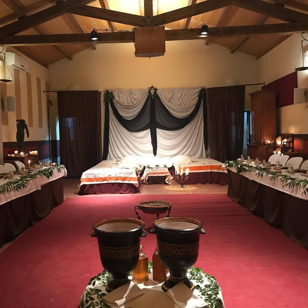 Banquete romano Almedinilla