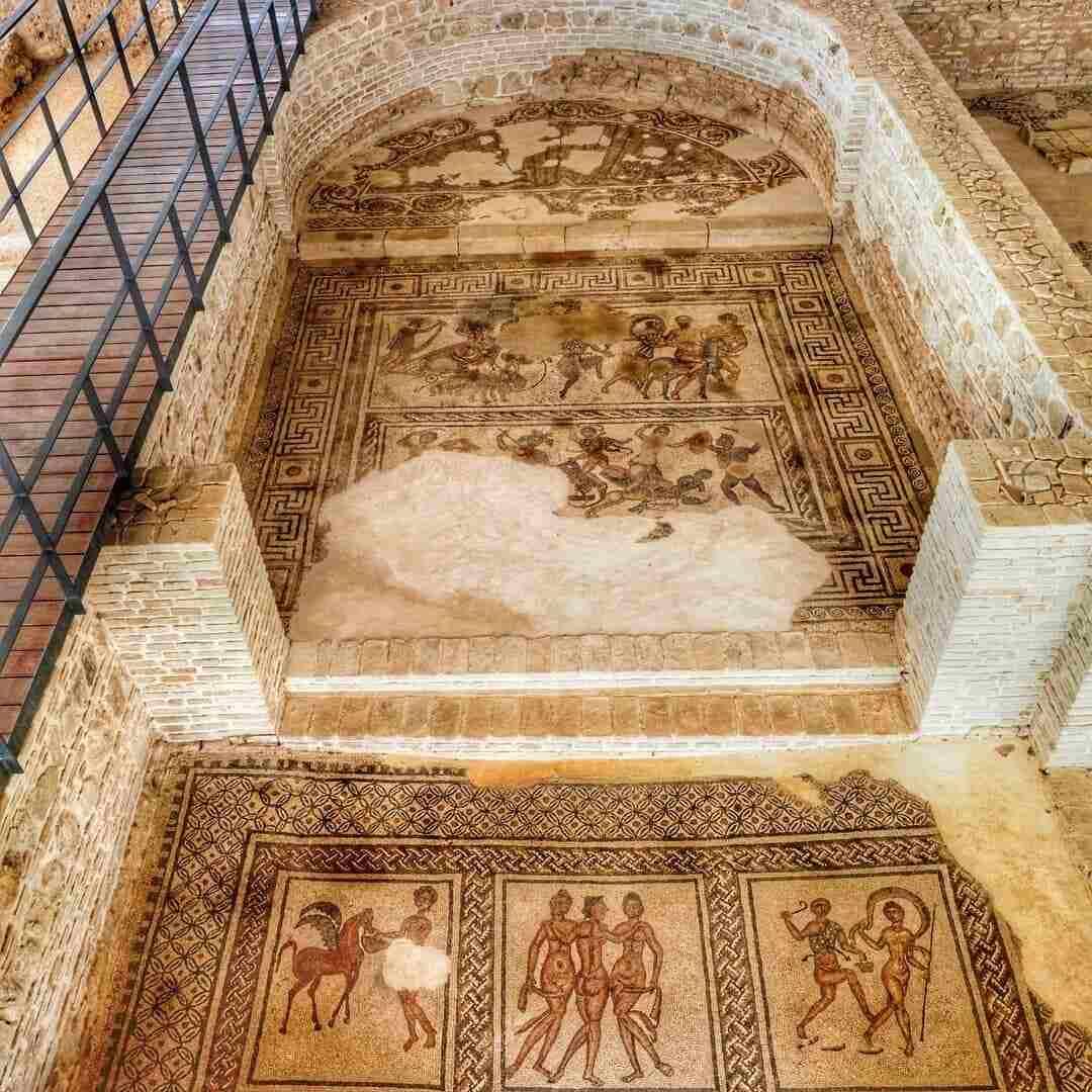 Mosaicos de la Villa romana de Puente Genil