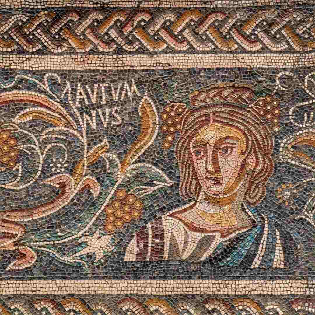 Mosaico del Museo Nacional de Arte Romano de Mérida